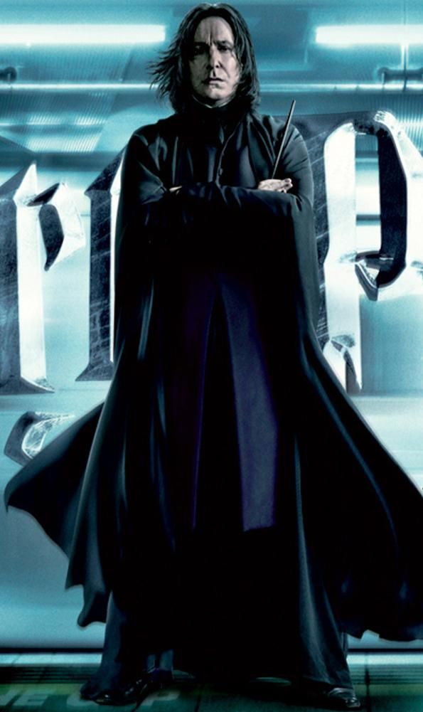 Severus Snape  Both in the books, and as played by Alan Rickman