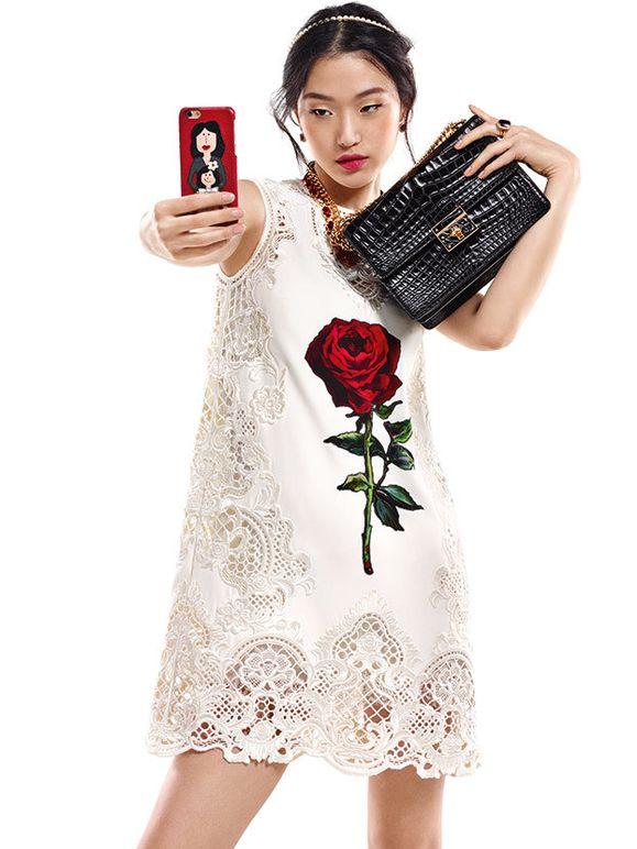 Моника Беллуччи в рекламной кампании Dolce & Gabbana осень-зима 2015/2016