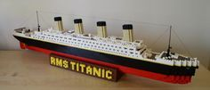 Lego titanic.     Made in Norn Iron