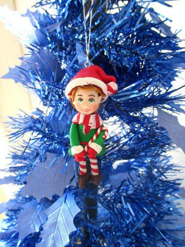 Decorazione per albero Elfo di Babbo Natale, by Magicla, 5,00 € su misshobby.com