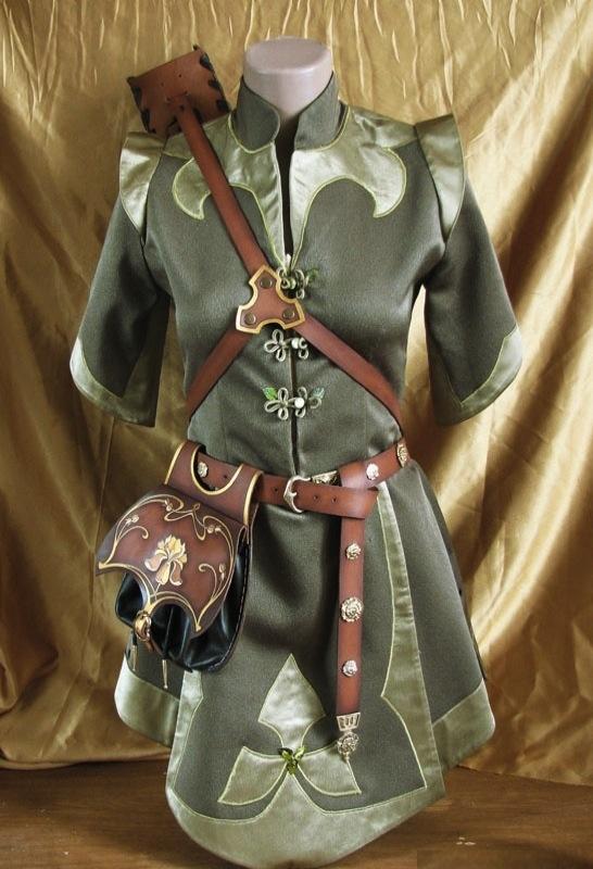 Costume  ・ハイエルフ族の服はこう言うイメージ。それにしても何と良いデザイン。
