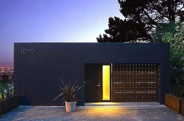 Stucco corten house exterior pinterest for Berkeley mills doors
