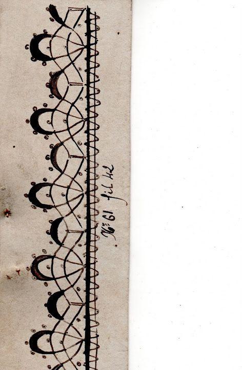 Patrones antiguos de encaje a bolillos, Francia, Siglo XIX - Doris - Picasa Albums Web