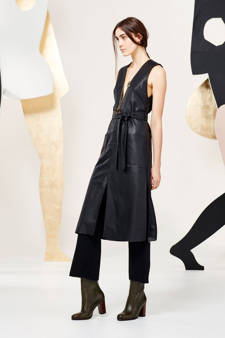 Kate Sylvester - A Muse: Baba dress, Colette trouser, KS boots