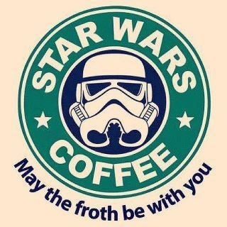 heeheeGeek, Crosses Stitches Pattern, Storms Troopers, Star Wars, Dark Side, Stars Wars, Drinks, Starbucks, Starwars