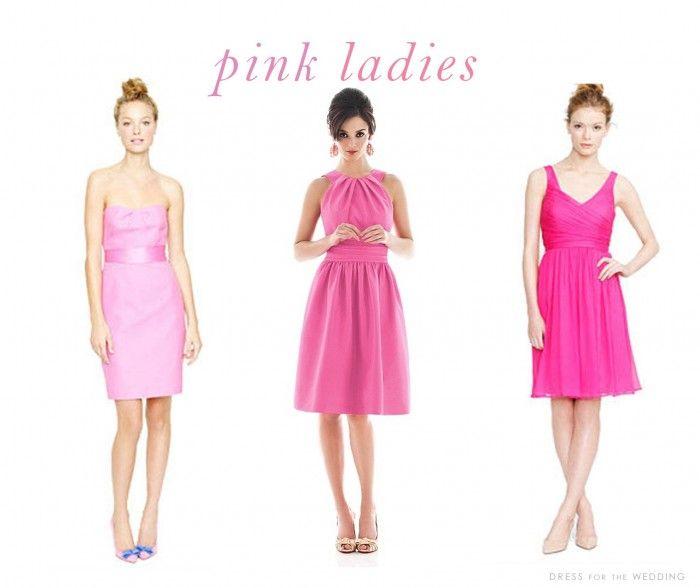 32c04503b92 Blush and Pink Bridesmaid Dresses for Weddings