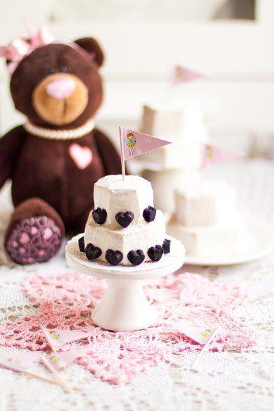 Тортик на первый день рождения: сладко и полезно ::: elle-craft — творчество со вкусом!