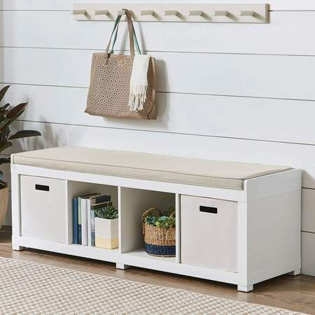 Excellent Home House In 2019 Cube Storage Bench Storage Bench Theyellowbook Wood Chair Design Ideas Theyellowbookinfo