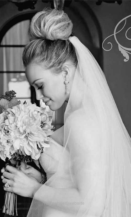 Incredible Hillary Duff Wedding Hair  The post  Hillary Duff Wedding Hair…  appeared first on  Haircuts and Hairstyles .