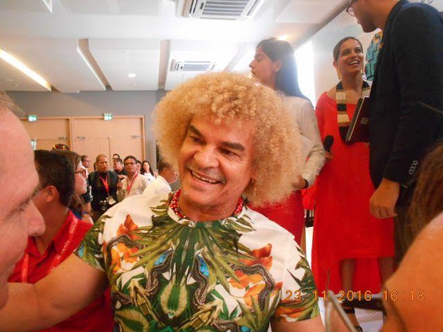 EL PIBE VALDERRAMA SE CONFIESA CON ANTONIO CELIA - Hoy es Noticia