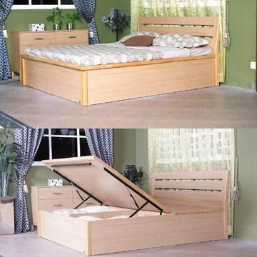 How To Build A Queen Size Platform Bed With Storage - Downloadable ...