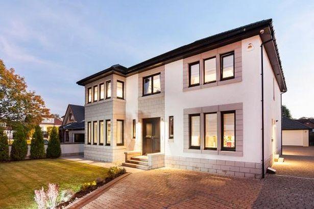 Take a peek inside Rangers striker Kenny Miller's luxury home as he puts Glasgow pad on the market