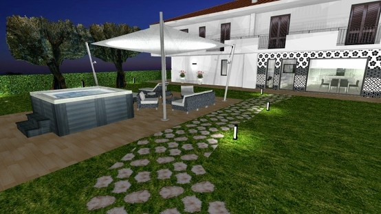It 's spring and return the famous outdoor projects made by Padovani. Comprehensive and coordinated terraces, gardens, patios, etc. with roof structures, furniture, lighting, pools, external cladding and everything that needs your outdoor space.