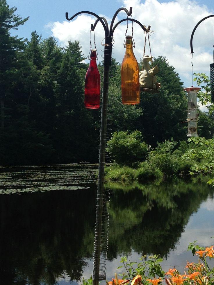 17 best ideas about bird feeder poles on pinterest lowes bird feeders wooden bird feeders. Black Bedroom Furniture Sets. Home Design Ideas