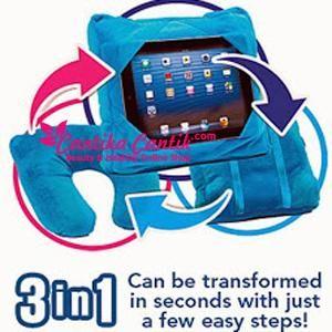 Gogo Pillow 3 in 1 Murah. Dapat dilipat menjadi travel pillow, dapat dijadikan sandaran kepala dimobil dan juga dapat dijadikan bantal tablet. **Selengkapnya: http://c-cantik.me/f **Order Cepat: http://m.me/cantikacantik.id  KONTAK KAMI DI - PIN BBM 2A8FB6B4 - SMS / WA 081220616123 Untuk Fast Response