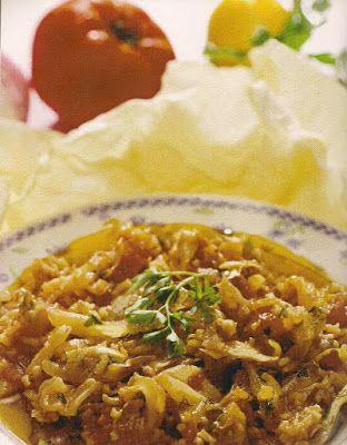 ΠΑΝ ΜΕΤΡΟΝ ΑΡΙΣΤΟΝ: Νηστίσιμα φαγητά με συνταγή Αγίου Όρους...Λαχανόρυ...