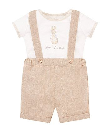 035d5e980 peter rabbit bibshort set | Cottage Of Mr.Bunny. | Peter rabbit baby ...