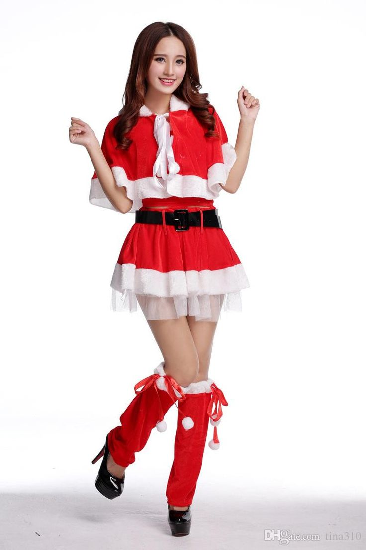 #Costumi di #Natale donna #SantaClaus (rosso) #Christmas  http://amzn.to/2eEaL9d