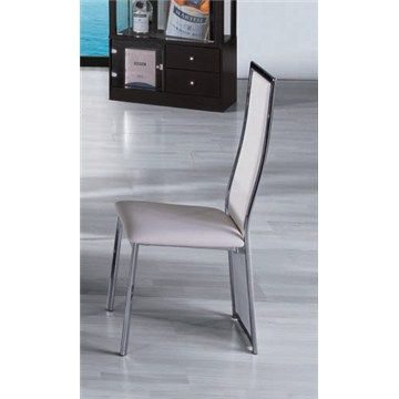 Barcelona Dining Chair in White