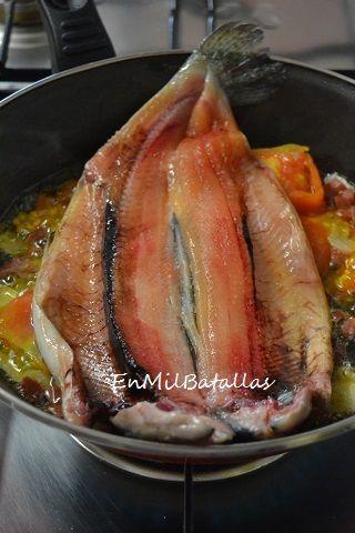 Trucha a la sartén http://enmilbatallas.com/2014/09/02/trucha-a-la-sarten/