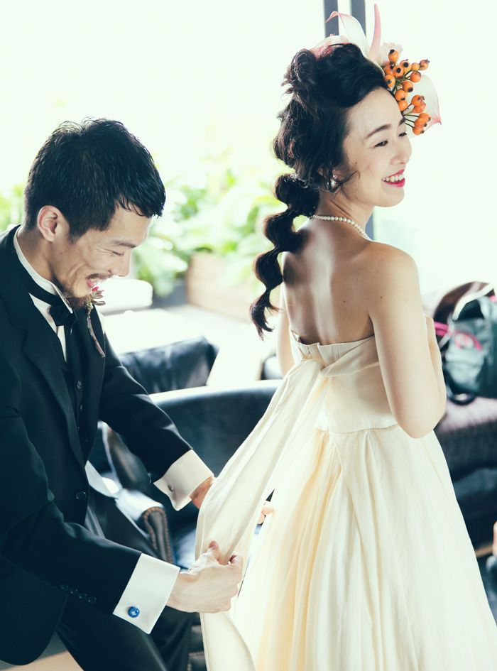 2 shot  / ツーショット / 新郎 / 新婦 / crazy wedding / ウェディング / 結婚式 / オリジナルウェディング/ オーダーメイド結婚式