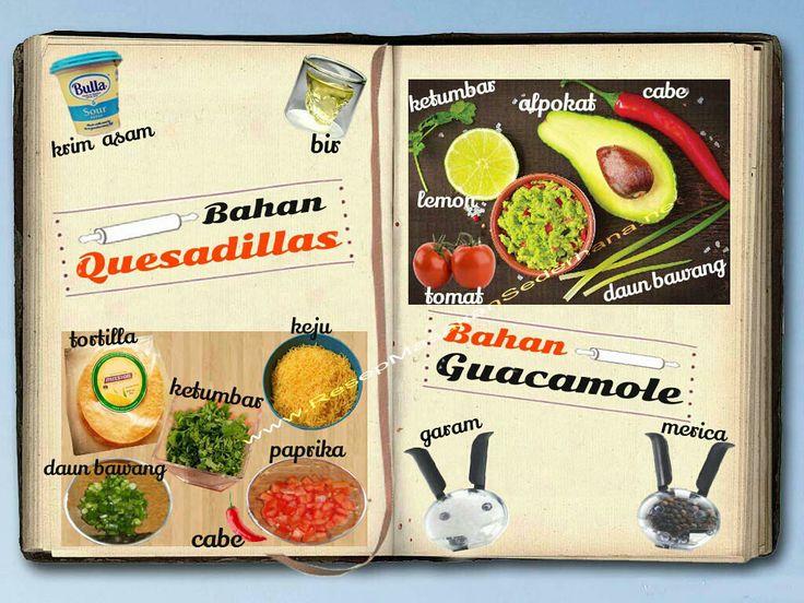 Resep Masakan Sederhana - Quesadillas With Guacamole  Video Cara Masak : https://www.youtube.com/watch?v=nQxA5_QaS7Q  NB : website (http://ResepMasakanSederhana.net/) kami dalam proses pembuatan  #resep#masakan#sederhana#makanan#meksiko#tortilla#sauce#enak#mexicofood#daging#tomat#salsa#cheese#keju#salt#pepper