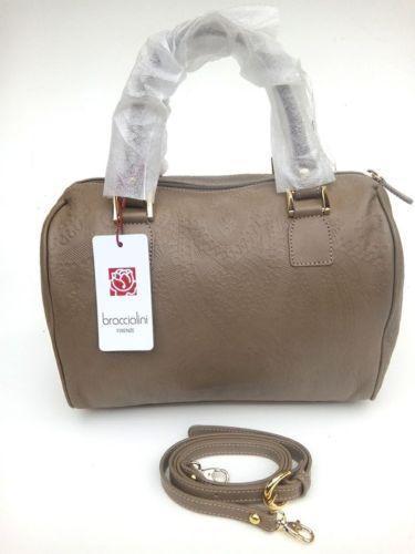Handbags-borsa-BRACCIALINI-bauletto-prima-linea-prod-2016-pelle-col-Scoiattolo