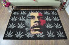 Modern Funky Bob Marley Rug