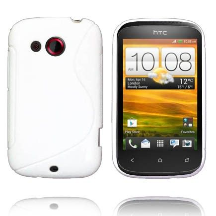Solid S-Line (Hvid) HTC Desire C Cover
