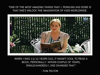another reason rowling is our queen