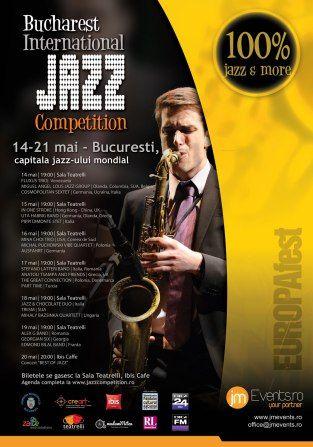 14-21 May 2016: Bucharest International Jazz Competition