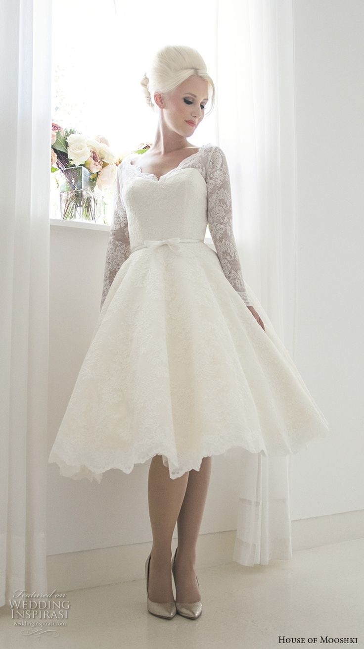 17 best images about beautiful sleeves on pinterest for Sweetheart neckline tea length wedding dress