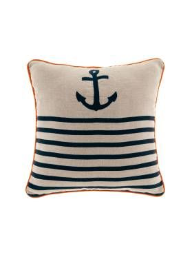 Linen House In The Navy cushion, available at Forty Winks.