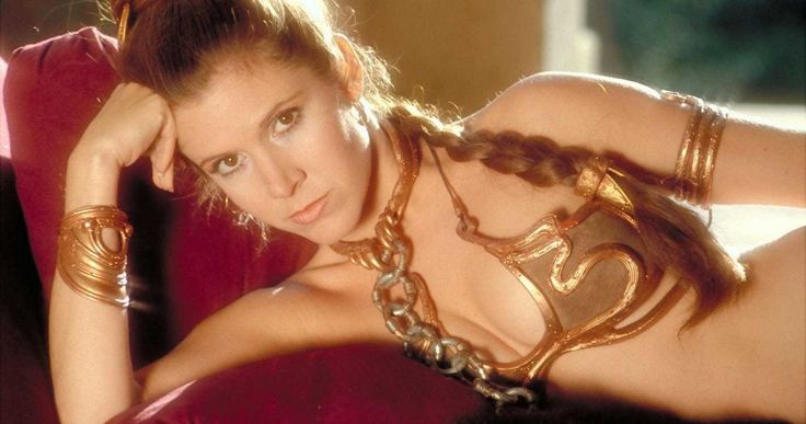 'Star Wars' Princess Leia Slave Costume Fetches $96K at Auction -- The Rebel Blockade Runner from 'A New Hope' sets a new 'Star Wars' auction record this week. -- http://movieweb.com/star-wars-princess-leia-slave-costume-auction/