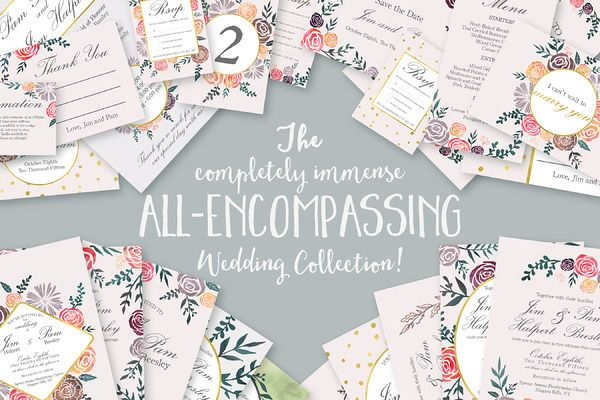 ALL-ENCOMPASSING Wedding Collection