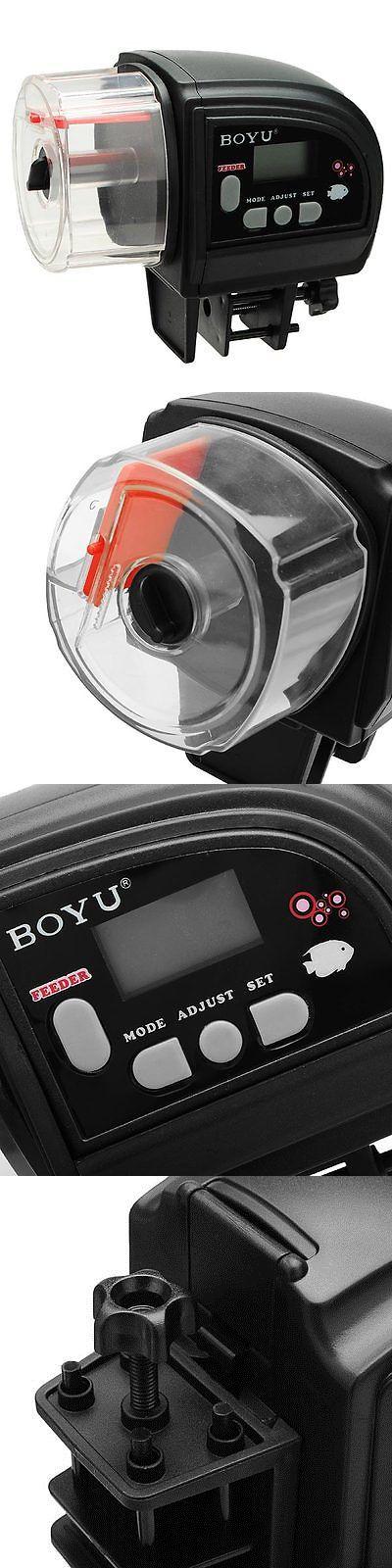 Feeders 63034: Boyu Zw-82 Automatic Fish Food Feeder For Aquarium Fish Tank Holiday Timer -> BUY IT NOW ONLY: $32.07 on eBay!