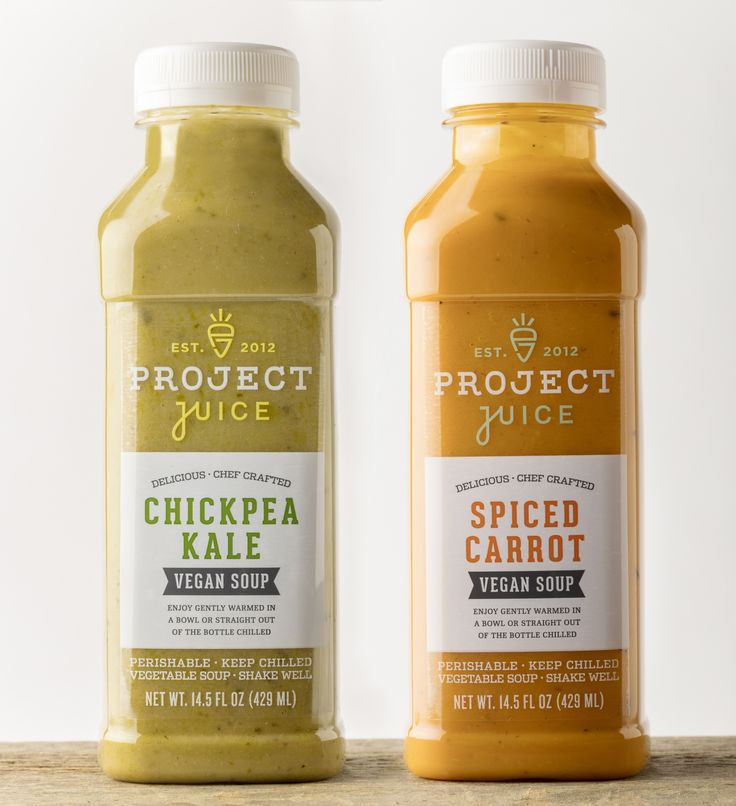 Now serving chef-crafted soups. Meet our all-NEW, all-organic, plant-powered bottled soups: Spiced Carrot & Chickpea Kale. Enjoy them gently warmed in a bowl or straight out of the bottle chilled. However you choose to gulp them down, these soups are a must-try, delivering awesome nutrition and delicious taste.