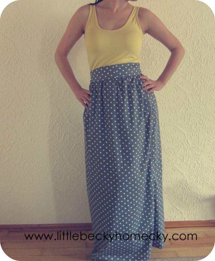Diy Tank Top Maxi Dress Diy Tank Diy Dress Diy Clothes