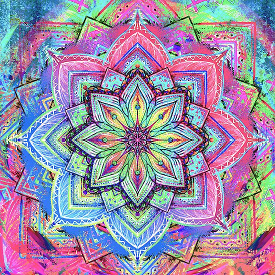 Mandala HD 5 by relplus on Redbubble