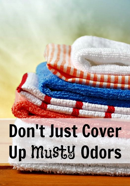 how to clean musty washing machines