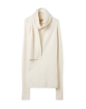 Scarf Neck Knit | Woolworths.co.za