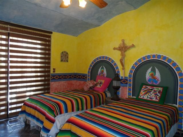 Sarapes As Bedspreads Mexican Interior Design Ideas Pinterest Paint Colors Colors And Bedding