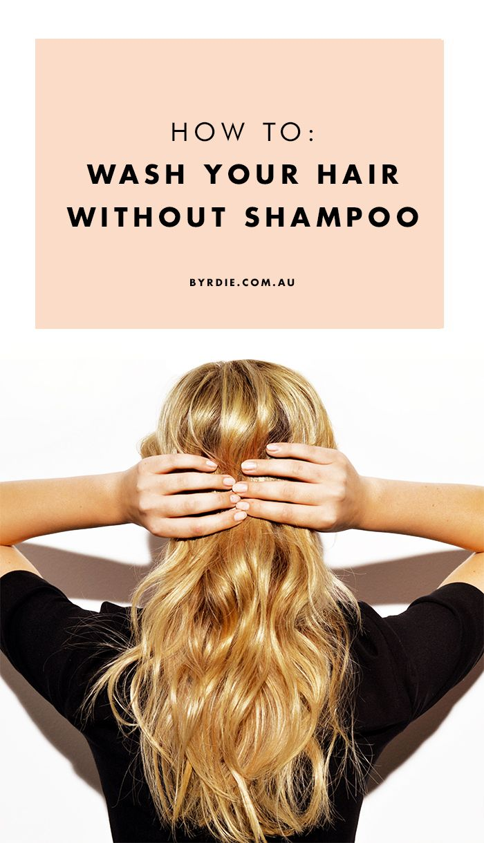 how to wash your hair How can the answer be improved.