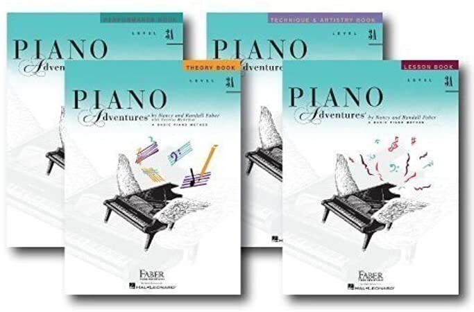 Free Read Faber Piano Adventures Level 3a Learning Library Pack Four Book Set Lesson Theory Per Books Book Set Ebook