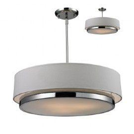 Luminaire suspendu contemporain - 10650