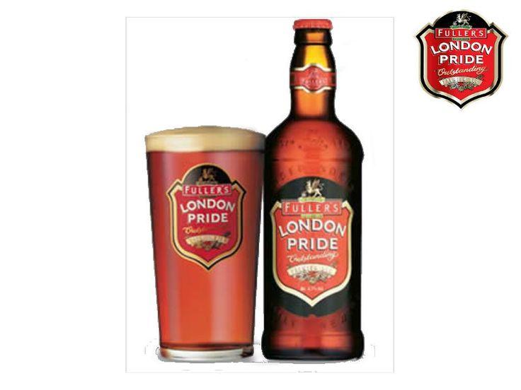 Premiada con el título de Champion Beer of Britain, la Fuller's London Pride es por muchos considerada como el mejor exponente en el estilo Bitter inglés.  Se trata de un clásico británico, una cerveza ligera y fácil, cuya característica principal reside en el amargor y además en el buen balance rico en granos.  Actualmente es la cerveza de cabecera en los pubs ingleses.