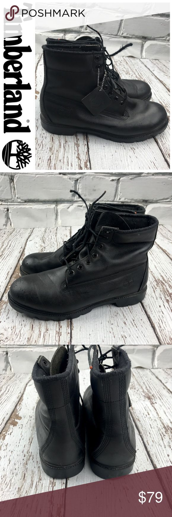 💕SALE💕Timberland Black Boots Awesome 💕Timberland Black Boots Timberland Shoes Boots