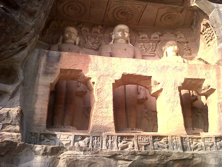 Buddhist Scuptures in Gwalior, Madhya Pradesh