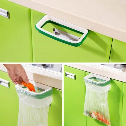 Garbage Bag Holder Description: Good quality PP material, thick and solid, durable and can hold heavier things Can be hung on the door, cupboard, drawer and so on, easy to store garbage Help to keep your home tiny, live a happy and clean life Specification: Material: PP Size: 22×12.5cm/8.7×4.9Inch Inner Frame: 19.2×8.2cm/7.6×3.2Inch Pacakge Includes: 1 x Plastic Hanging Garbage Bag Holder.