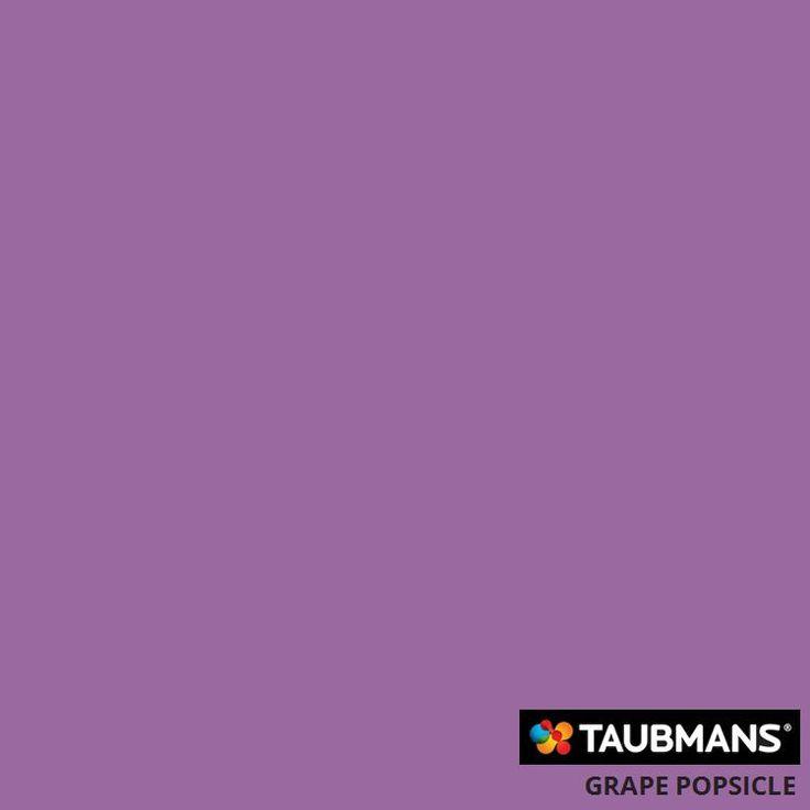 #Taubmanscolour #grapepopsicle